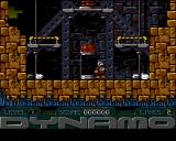 Captain Dynamo Amiga Level 1 - game start