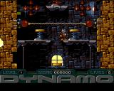 Captain Dynamo Amiga Level 1 - electrical arc