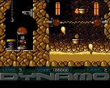 Captain Dynamo Amiga Level 3 - balls of lava and extra life