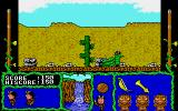Cosmic Relief: Prof. Renegade to the Rescue Amiga Constricted by the giant snake