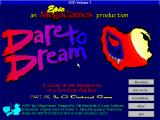 Dare to Dream Part One: In a Darkened Room Windows 3.x Title screen