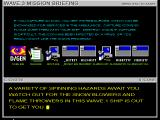 Operation: Inner Space Windows 3.x Debriefing -- guess you can tell which game I just finished getting screencaps from before this one 8) (SVGA)