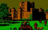 Defender of the Crown DOS Another siege (CGA)