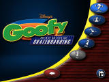 Disney's Extremely Goofy Skateboarding Windows Title screen