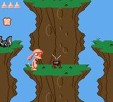 Quest for the Shaven Yak starring Ren Hoëk & Stimpy Game Gear Believe it or not, that TV will restore your health!