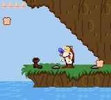 Quest for the Shaven Yak starring Ren Hoëk & Stimpy Game Gear That boot is another health item.