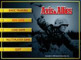 Axis & Allies Windows Main Menu