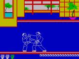 Kung Fu ZX Spectrum A mid level kick