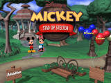 Disney's Mickey Saves the Day: 3D Adventure Windows Title screen (Dutch version)