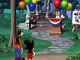 Disney's Mickey Saves the Day: 3D Adventure Windows Introduction: Pete announces he's the new mayor.