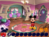 Disney's Mickey Saves the Day: 3D Adventure Windows Inside Minnie's house, looking for clues.