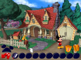 Disney's Mickey Saves the Day: 3D Adventure Windows Goofy could help you, but he's got a cold.