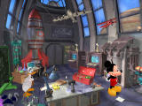 Disney's Mickey Saves the Day: 3D Adventure Windows The professor is working on a plane, but he needs help with a few items.