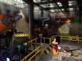 Disney's Mickey Saves the Day: 3D Adventure Windows Inside the factory