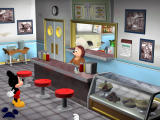 Disney's Mickey Saves the Day: 3D Adventure Windows Inside the restaurant
