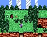 Arle no Bōken: Mahō no Jewel Game Boy Color A magical wall suddenly seals off the town