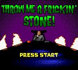 Austin Powers: Oh Behave! Game Boy Color Rock, Paper and Scissors or Throw Me a Frickin' Stone
