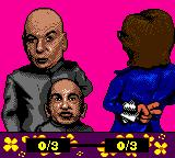 Austin Powers: Oh Behave! Game Boy Color Your opponents, Doctor Evil and Mini Me