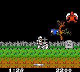 Ghosts 'N Goblins Game Boy Color These red flying demon are hard to avoid and take four hits to kill