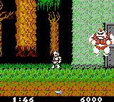 Ghosts 'N Goblins Game Boy Color The first boss you meet