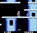 Ghosts 'N Goblins Game Boy Color Level 2 involves much more jumping