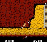 Ghosts 'N Goblins Game Boy Color You know have the throwing axes as a weapon