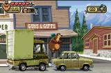 Open Season Game Boy Advance To go ahead, Boog must to jump-avoid a truck and a car.
