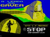 A Lenda da Gávea ZX Spectrum Title screen