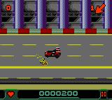 Carmageddon Game Boy Color Zombies leave a nice smear on the road when run over