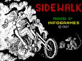 Sidewalk ZX Spectrum Loading screen