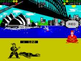World Karate Championship ZX Spectrum Point to Red
