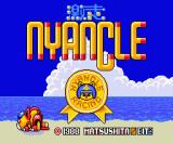 Nyancle Racing MSX Title screen