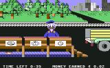 Donald Duck's Playground Commodore 64 If you miss or put the item in the wrong crate, Donald fusses at you.