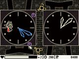 Chalk Windows A puzzle with two clocks while enemies keep bothering you.