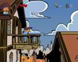 Legendo's The Three Musketeers Windows The game has its own rooftop level.