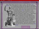 The War College: Universal Military Simulator 3 DOS …containing both background information on the units and leaders…