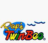 Konami GB Collection: Vol.3 Game Boy Color Pop n' TwinBee - Title Screen