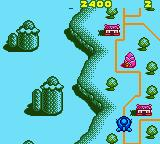 Konami GB Collection: Vol.3 Game Boy Color Pop n' TwinBee - The pink cone things shoot at you from the ground