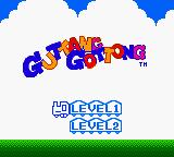 Konami GB Collection Vol. 3 Game Boy Color Guttang Guttong - Title Screen