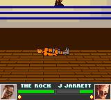 WWF Attitude Game Boy Color The wrestler has been thrown out of the ring