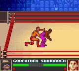 WWF Attitude Game Boy Color This move looks more rude than it actually is
