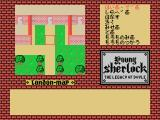 Young Sherlock: The Legacy of Doyle MSX Moving around the mansion