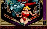 Perfect Pinball DOS Revenge of the Robot Warriors, lower section, low-res (320x200)