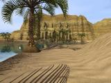 Riddle of the Sphinx: An Egyptian Adventure Windows An example of the extraordinary scenery