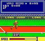 Konami GB Collection Vol. 2 Game Boy Color Track & Field - Get some speed up for the long jump