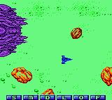 Konami GB Collection Vol. 4 Game Boy Color Gradius II - You start off being chased through an asteroid field by a big space ship