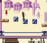 Konami GB Collection Vol. 4 Game Boy Color Castlevania II - These blocks break if stood on for too long