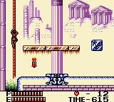 Konami GB Collection Vol. 4 Game Boy Color Castlevania II - Use the rope to progress further