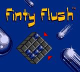 Microsoft Puzzle Collection Entertainment Pack Game Boy Color Finty Flush - Title Screen