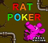 Microsoft Puzzle Collection Entertainment Pack Game Boy Color Rat Poker - Title Screen